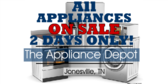 Every Appliance On Sale