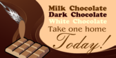 Milk, Dark & White