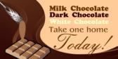 chocolate fudge signs