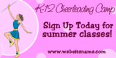 K12 Cheerleading Camp