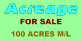 Acreage Sale Real Estate Specialized