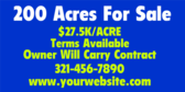 Acres For Sale Real Estate Specialized