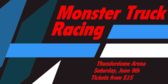 Monster Truck Racing Tickets