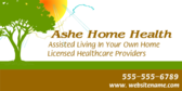 Assisted Living in your Own Home