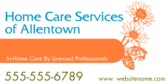 In-home Care By Licensed Professionals