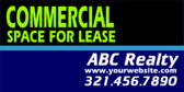 Commercial Space For Lease Real Estate