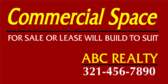Commercial Space For Sale Or Lease Build To Suit Y