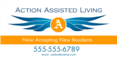 Now Accepting New Residents Action Assisted Livin