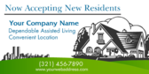Now Accepting New Residents Dependable Assisted Li
