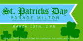 St Patrick's Day Parade Ribbon