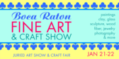 Fine Art Craft Show