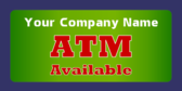 Atm Available Green