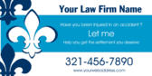 Law Firm Name Injured in an Accident