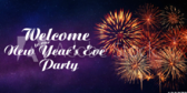 Welcome To New Year's Eve Party