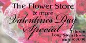 Valentines Day Flower Ad Banner