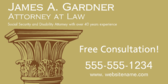 Social Security and Disability Attorney