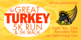The Great Turkey 5K Run