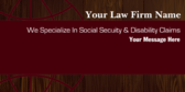 We Specialize In Social Security & Disability Clai