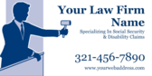 Law Firm Name Specializing In Social Security & Di