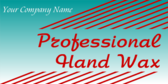 Professional Hand Waxing Generic