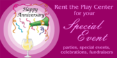 Rent Center for Your Special Event