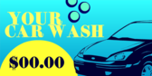 Generic Car Wash and Price