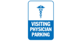 Visiting physician parking