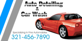 Auto Detailing Car Wash Specializing In Fine Autom