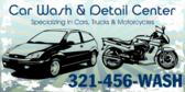 Car Wash Detail Center