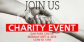 Generic Non Profit Event Time and Details