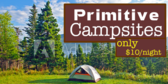 Primitive Campgrounds
