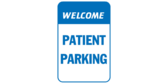 Welcome Patient Parking