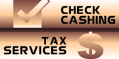 Cash Check... Taxes