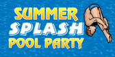 Summer Splash Pool Party Divers