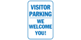 We Welcome You! Visitor Parking