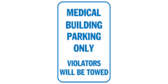 Medical building parking only violators will be to