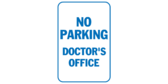 No parking doctors office
