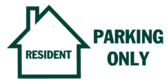 Resident Parking Only Icon