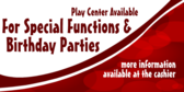 Rent the Play Center