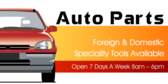 Auto Parts Foreign And Domestic