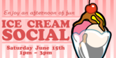 Ice Cream Social Afternoon of Fun