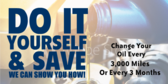 Change Your Oil Yourself And Save