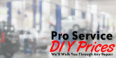 Pro Service At Diy Prices