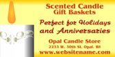 Scented Candles Gift Basket
