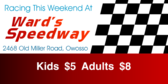 Racing This Weekend at Speedway