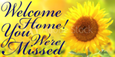 Welcome Home Your Message Here