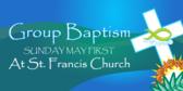 Christians Baptism Sacrament