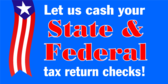 Cash Your Income Tax Check