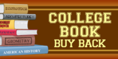 College Book Buy Back Money