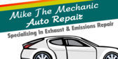 Mechanic Auto Repair Specializing in Exhaust